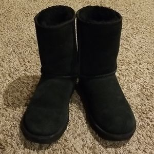 Black Uggs classic short boots